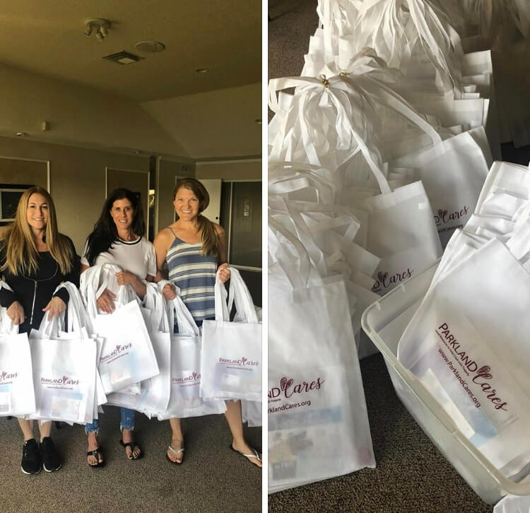 Parkland Cares Gift Bags