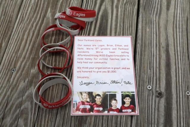 Parkland Cares Bracelet Fundraiser