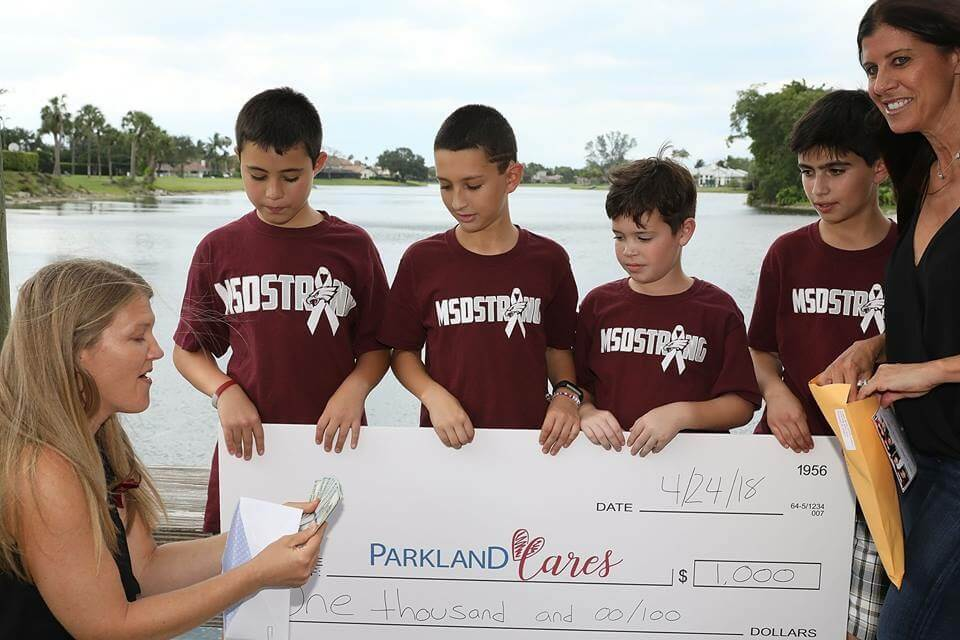 Parklane Cares $1,000 Donation