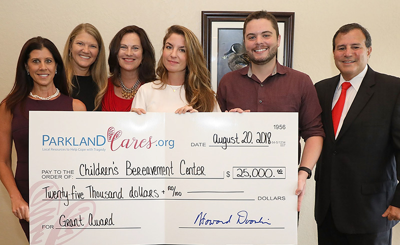 Children's Bereavement Center Grant Award