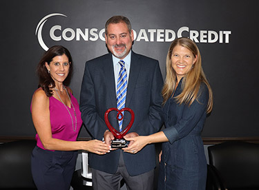 Consolidated Credit's Gary Herman - Parkland Cares Award