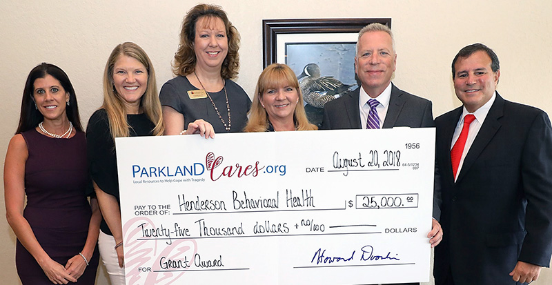 Henderson Behavioral Health Grant Award