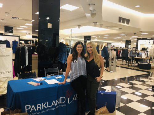 Parkland Cares event at the mall