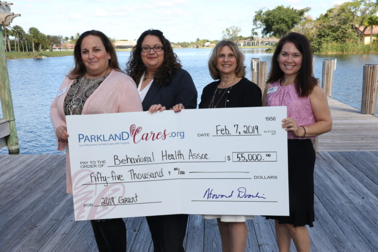 Parkland Cares Donation from Broward Behavioral