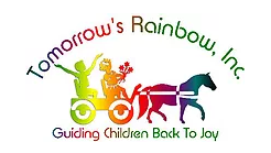 Tomorrow's Rainbow, Inc. Guiding Children Back To Joy logo