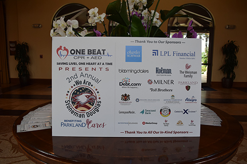 One Beat CPR + AED 2nd annual We Are Stoneman Douglas event poster