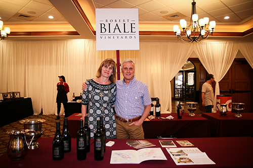 Robert Biale Vineyards stand