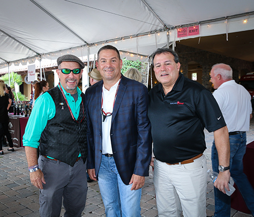 Howard Dvorkin with friends at the One Beat CPR + AED 2nd annual We Are Stoneman Douglas event