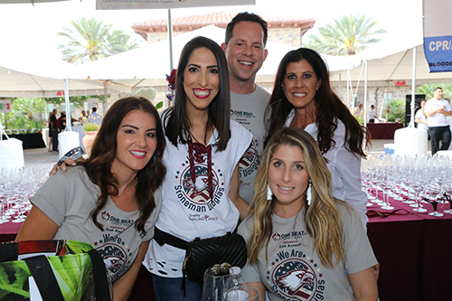 One Beat CPR + AED 2nd annual We Are Stoneman Douglas event crew member group photo
