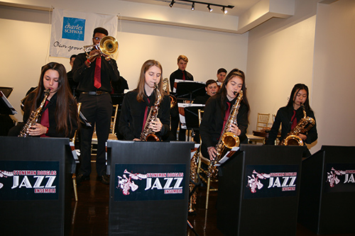 Performance of the Stoneman Douglas Jazz Ensemble