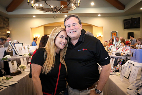 Gwen and Howard Dvorkin at the One Beat CPR + AED 2nd annual We Are Stoneman Douglas event