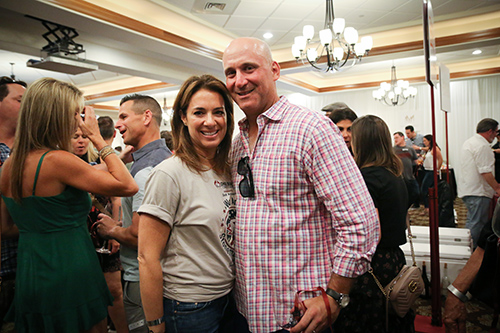Couple at the One Beat CPR + AED 2nd annual We Are Stoneman Douglas event