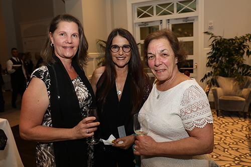 Group photo of 3 ladies