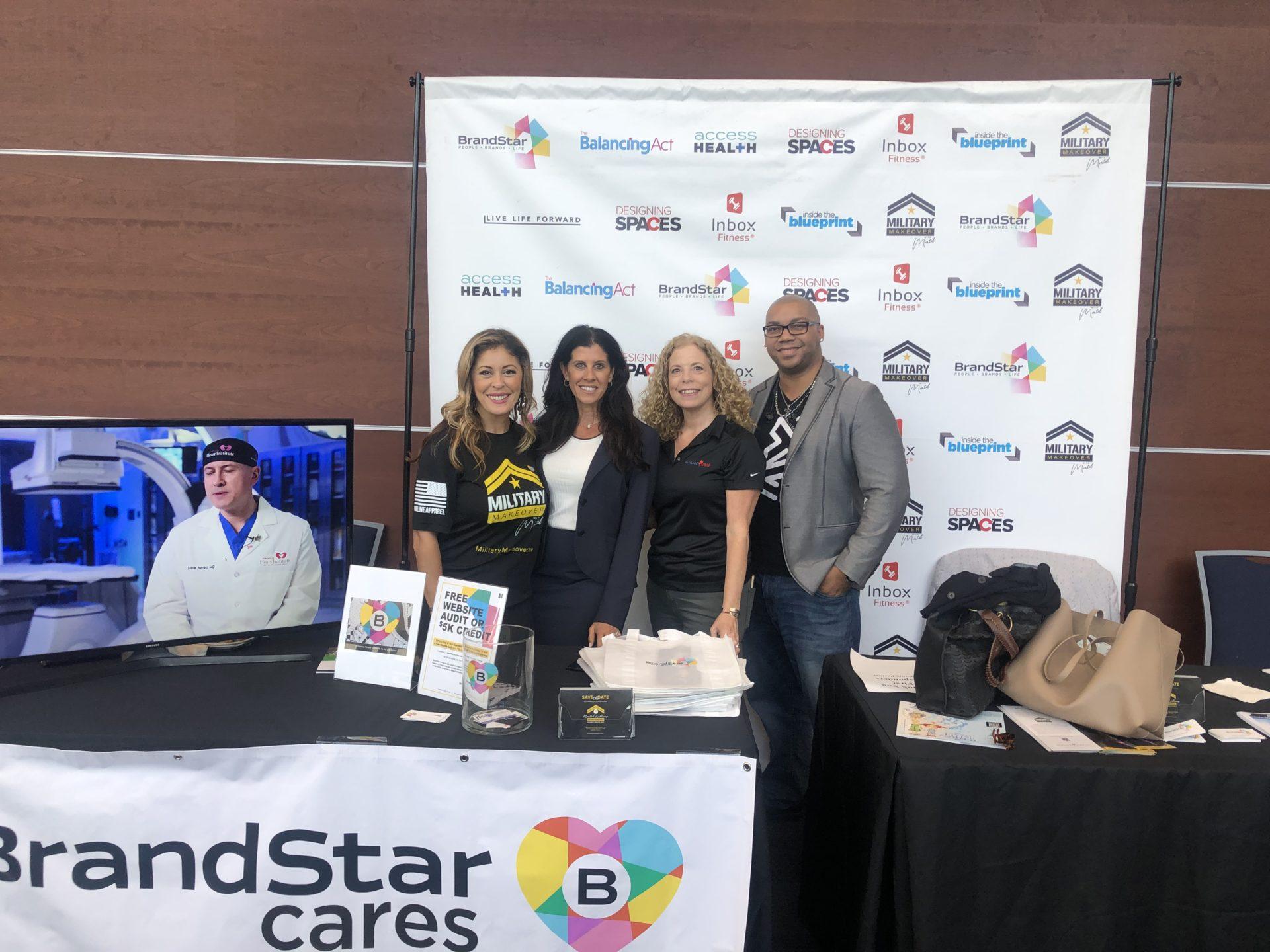 BrandedStar cares event