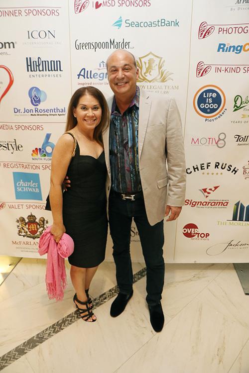 Gary Press and Jennifer Cohen. Lifestyle Media Group